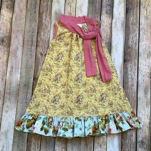 Persnickety Vintage Print Dress